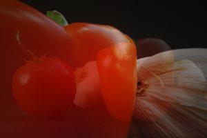 Drei Gemüse