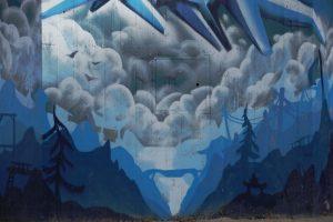 Köln Nippes Graffiti Stele